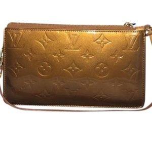Louis Vuitton Bronze Lexington Leather Pochette